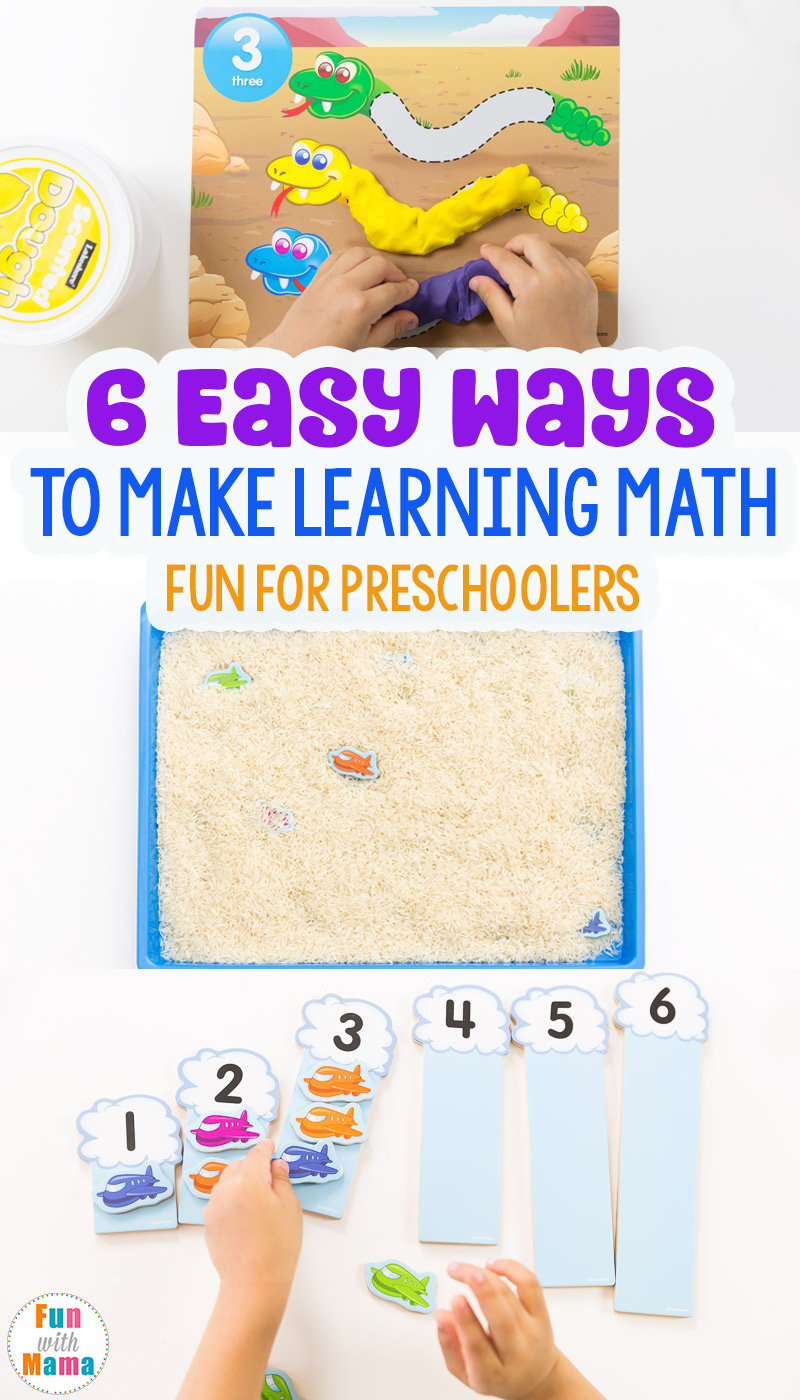 6 Easy Ways To Make Learning Math FUN!
