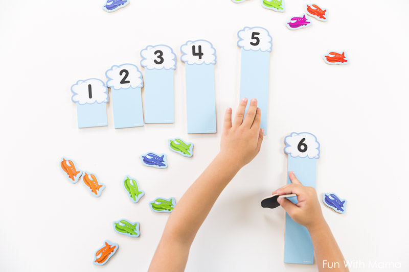 how to teach child numbers and number recognition