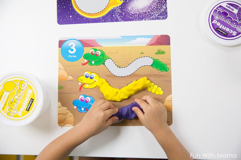 how to teach preschooler numbers