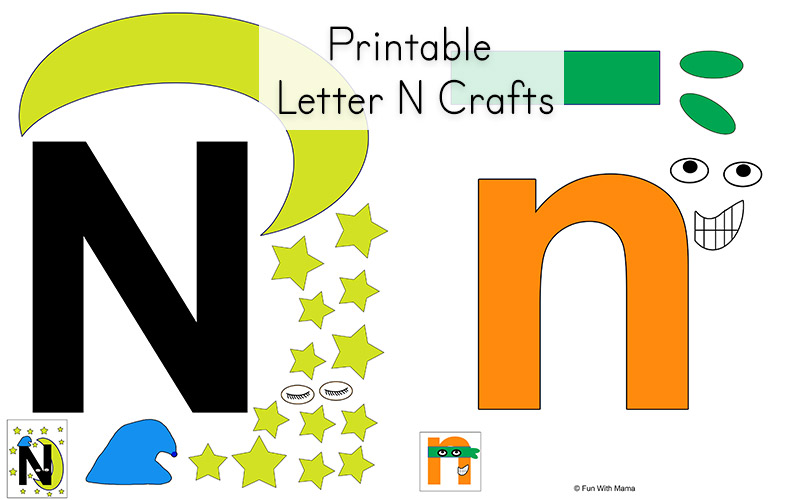 letter n preschool craft letter n worksheets with 507