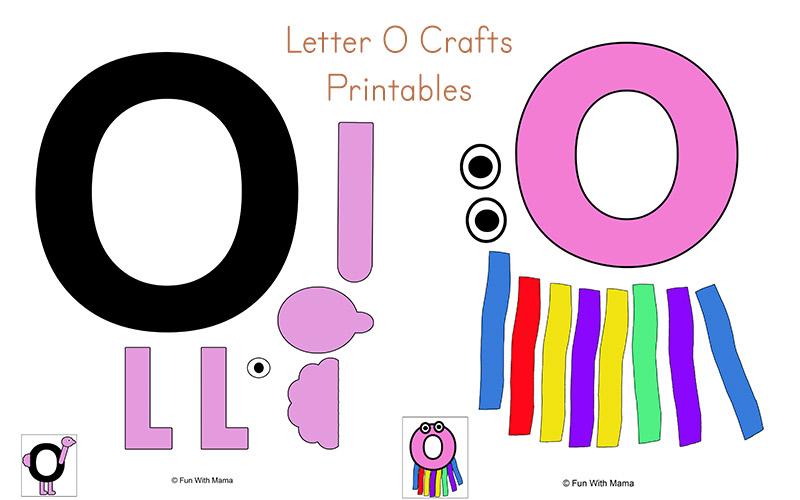 letter o crafts
