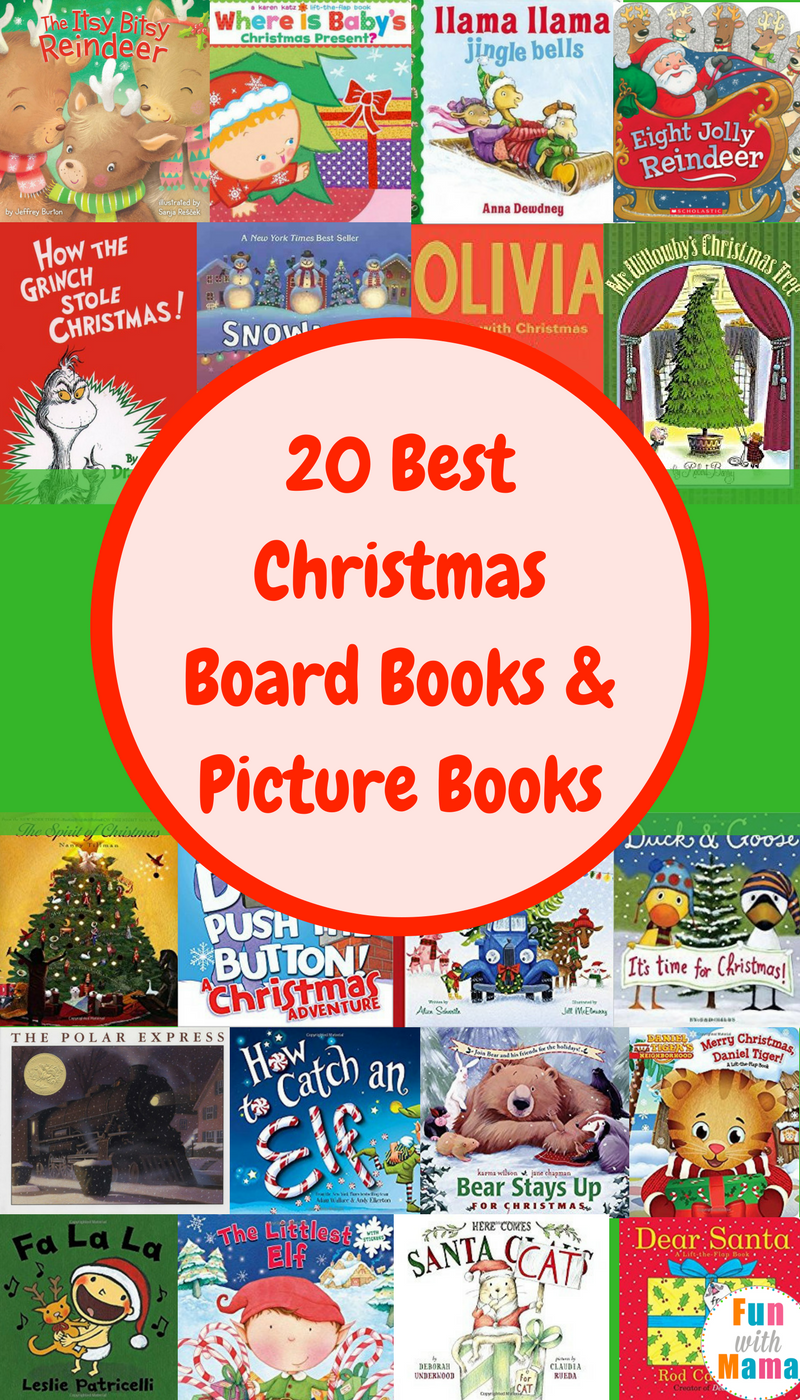 20 best christmas board books picture books - Best Christmas Books For Kids