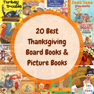 20 Best Thanksgiving Board Books & Picture Books!