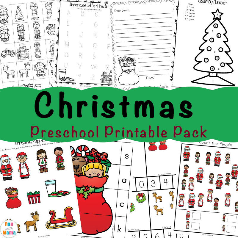 Free Printable Christmas Worksheets