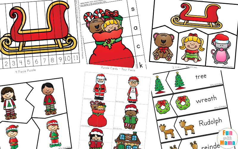 Free Printable Christmas Worksheets Fun With Mama. At The End Of This Printable Pack Are Blank Letter To Santa Templates For Your Child Write Their Telling What They Would Like Year. Preschool. Christmas Worksheet For Preschool At Mspartners.co
