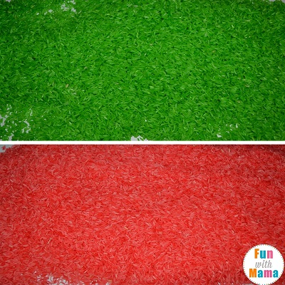 how to make colored rice 3