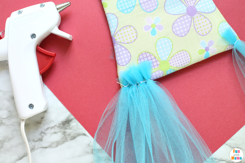 tutu hair bow holder instructions