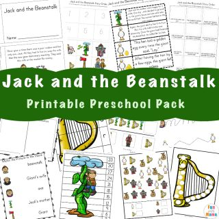 FREE Jack and the Beanstalk Activities