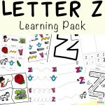 Letter Z Worksheets For Preschool + Kindergarten