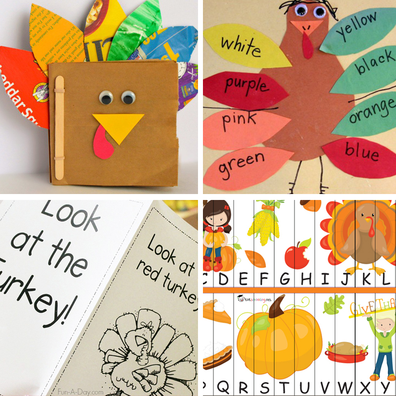 thanksgiving games for preschoolers