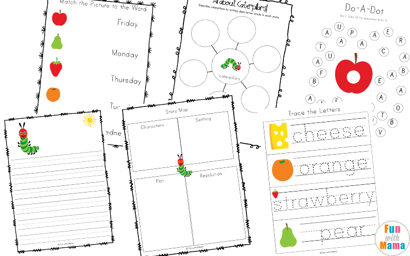 the very hungry caterpillar preschool lesson plans