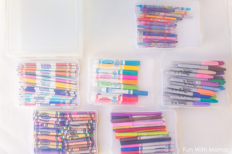 ... How To Organize Crayon And Markers