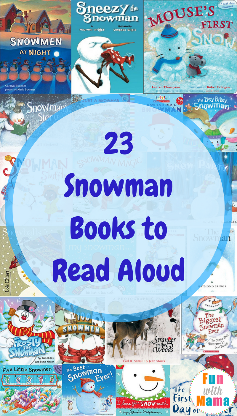 Snowman Books, Kids Books about Snowmen