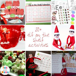 20+ Fun Elf On The Shelf Ideas + Activities