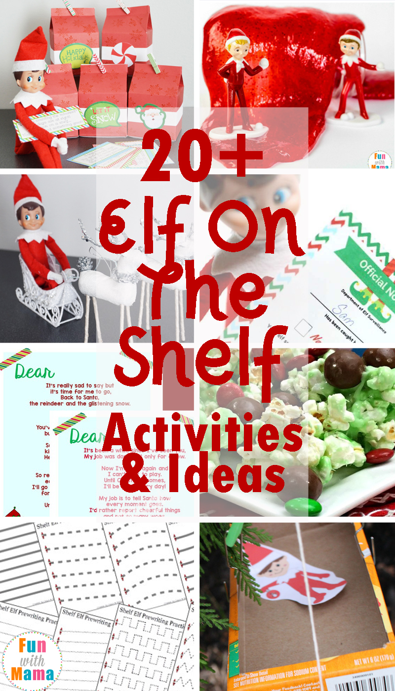 20 fun and festive elf on the shelf ideas and activities. Black Bedroom Furniture Sets. Home Design Ideas