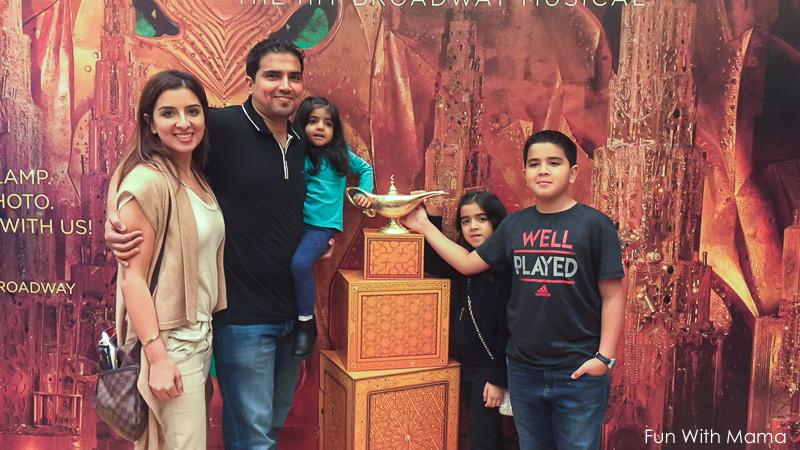 Aladdin broadway show review