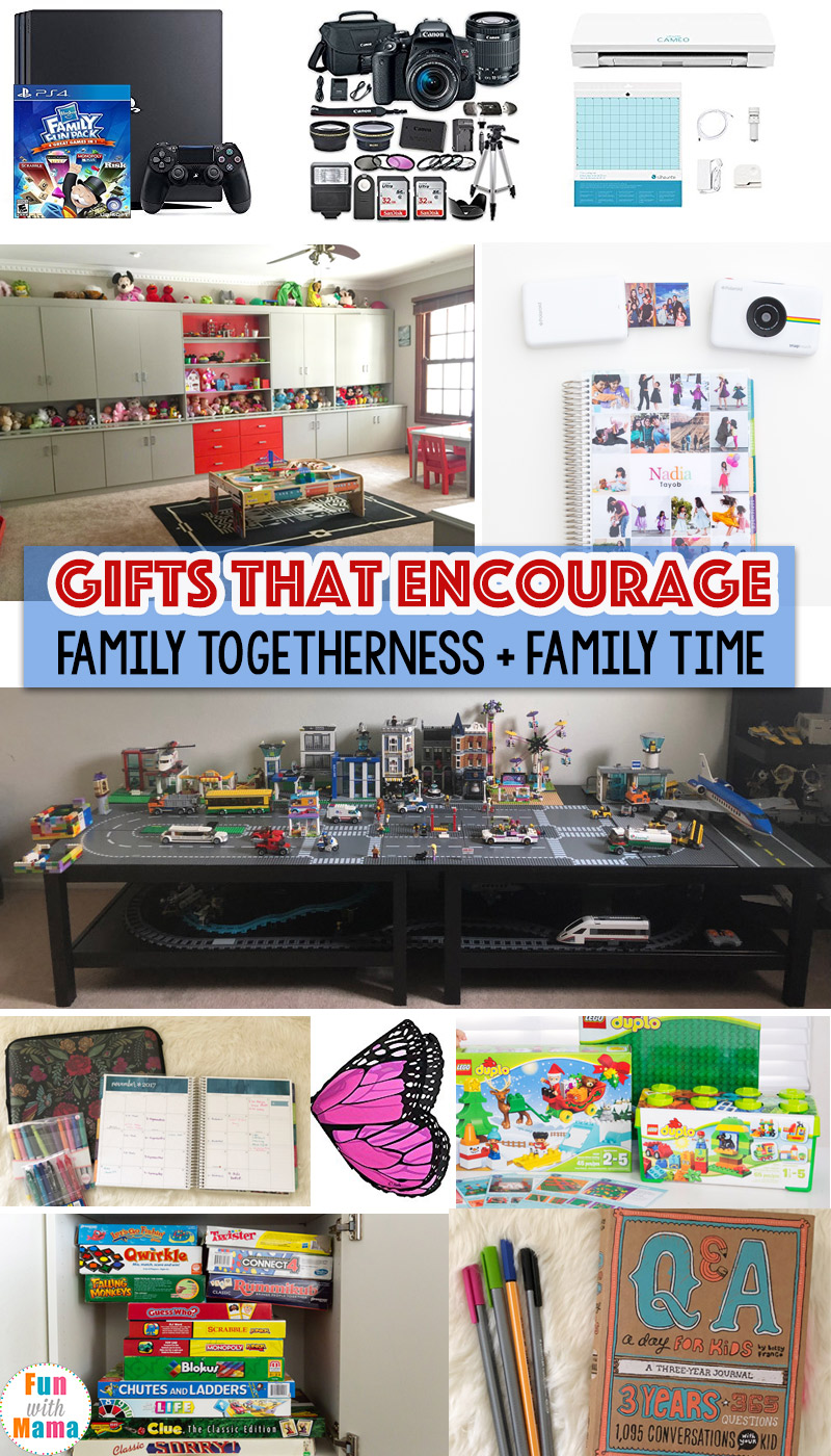 Family Gift Ideas That Encourage Family Time - Fun with Mama