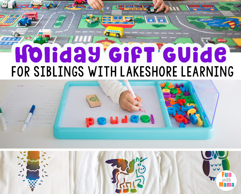 Lakeshore Learning Holiday Gift\'s For Siblings - Fun with Mama