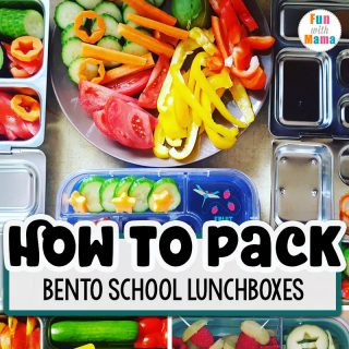 How To Pack Bento School Lunches Quickly