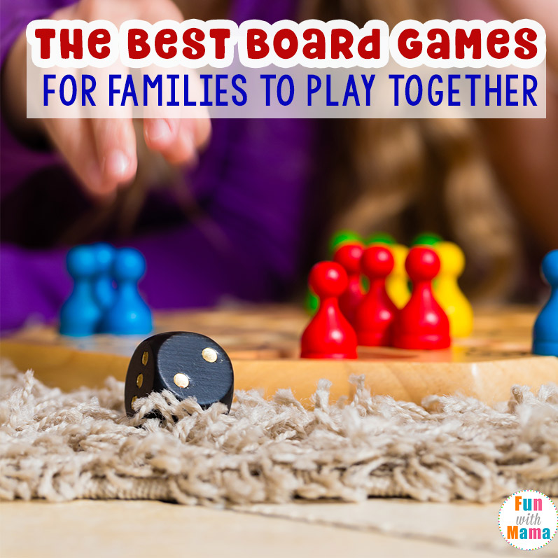 board games for families to play together