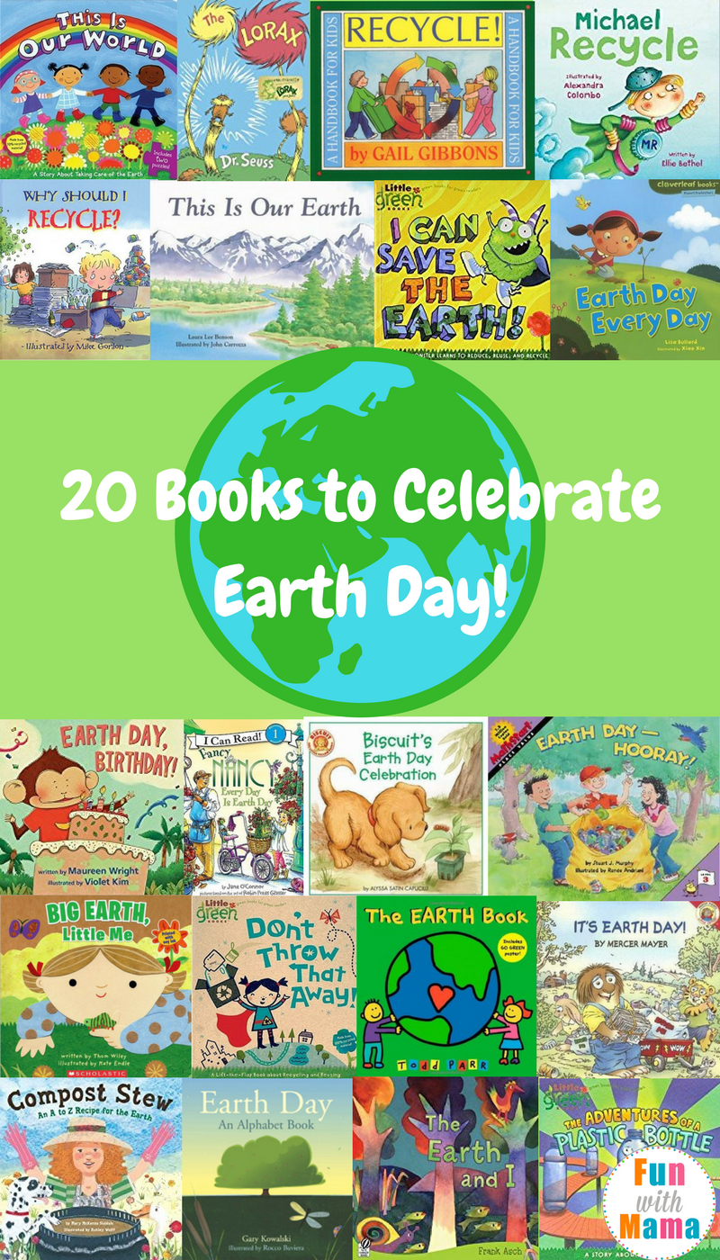Earth Day Stories For Kids - Fun with Mama