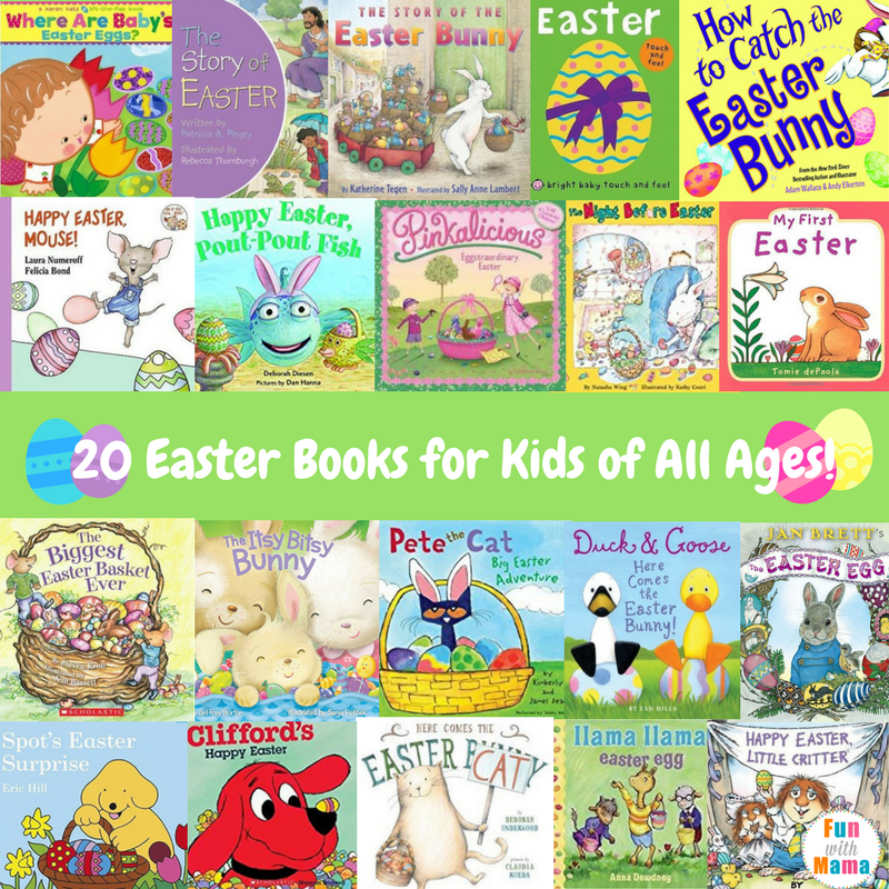 easter books to read to children
