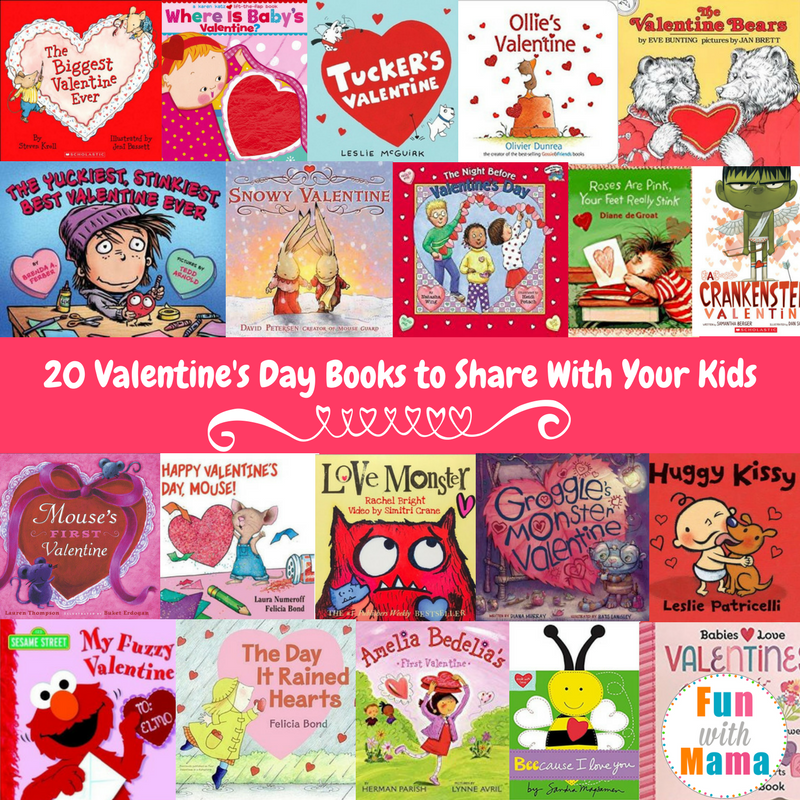 20 Valentine S Day Books For Preschoolers Toddlers