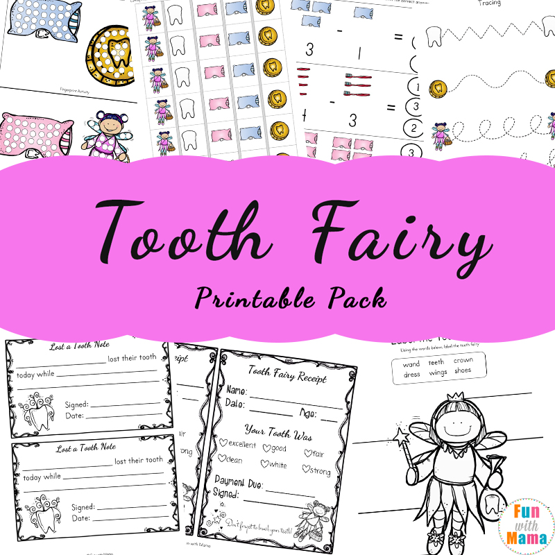 Tooth Fairy Ideas And Activities With Printable Tooth Fairy Letter Fun With Mama