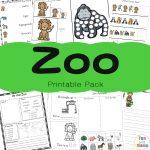 Zoo Animal Activities For Preschoolers + Kindergarteners