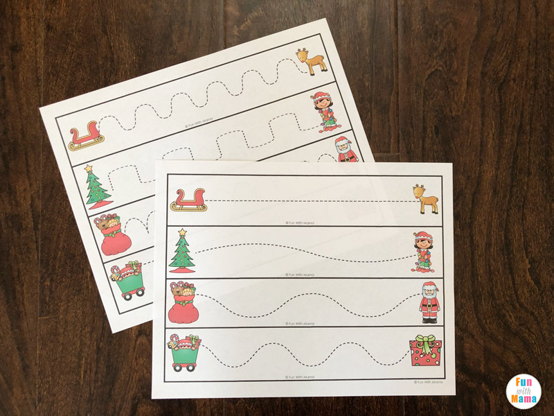 tracing worksheets for preschool