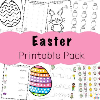 Easter Activities For Toddlers and Preschool Printables