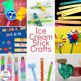Ice Cream Stick Crafts