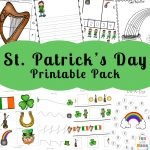 St Patrick's day coloring pages