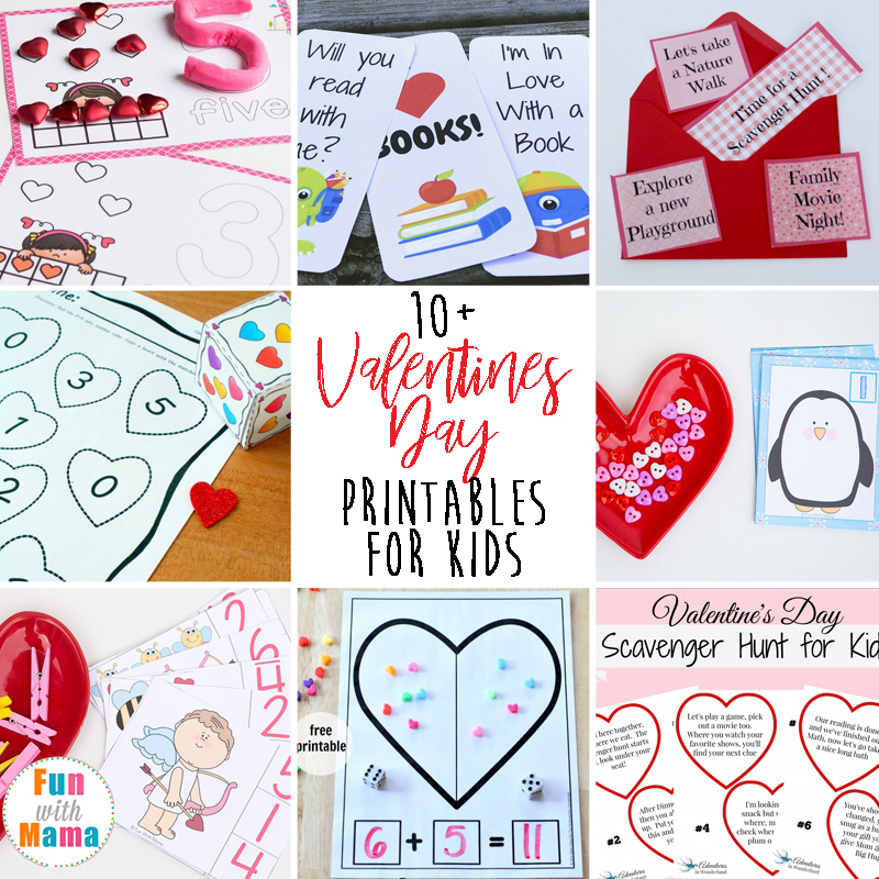 10+ super fun valentine's day printables for kids, Ideas