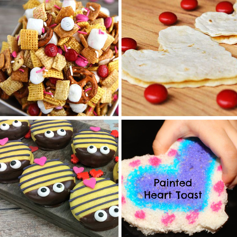 Valentine's Day Snacks For Kids All Part Of 50+Valentine Activities For Preschoolers