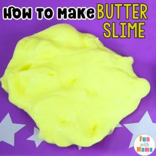 How To Make Butter Slime Recipe