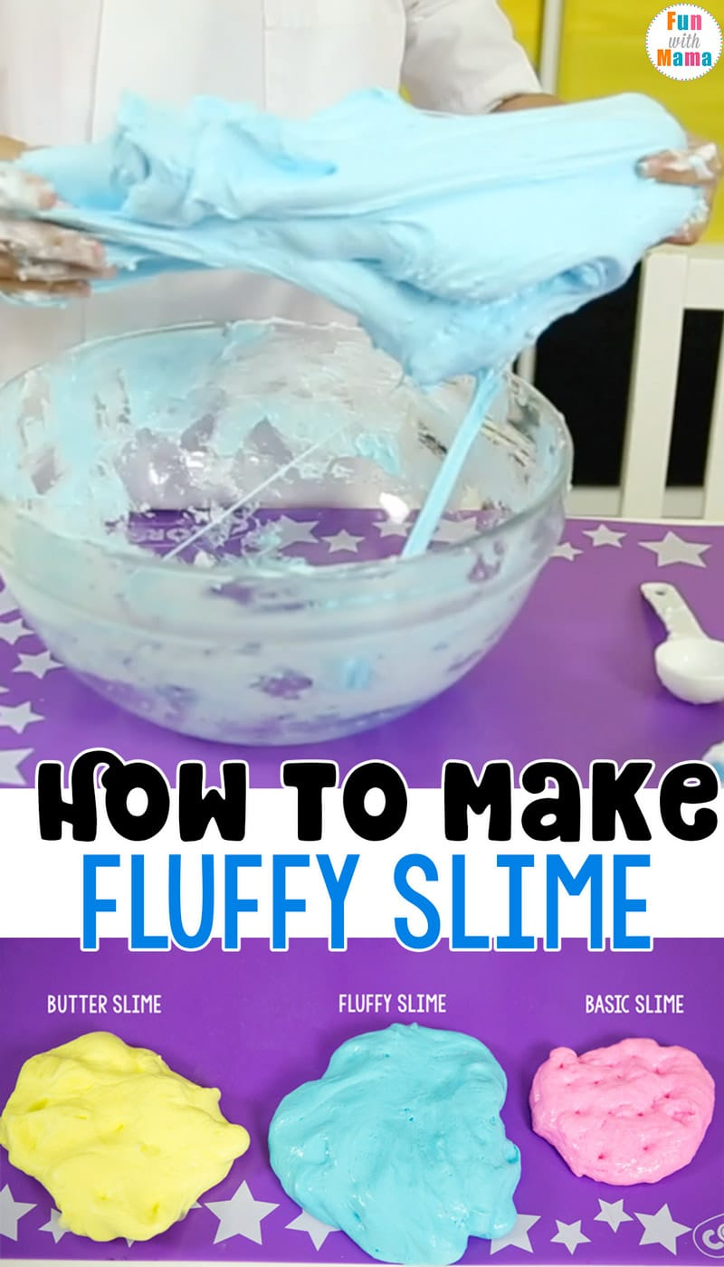 how to make fluffy slime with a fluffy slime recipe