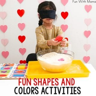 Learning Shapes and Colors With Shape Activities