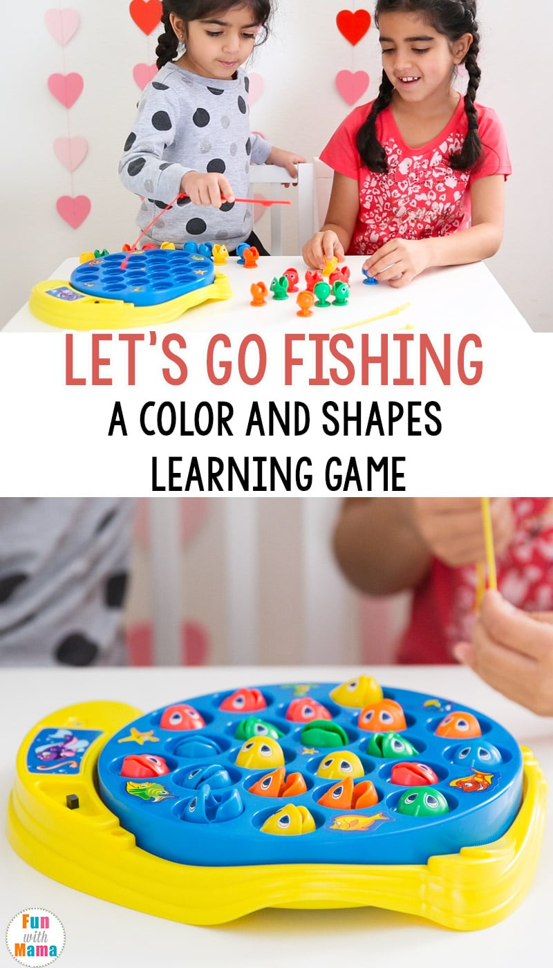 Lets go fishing game kids toy review