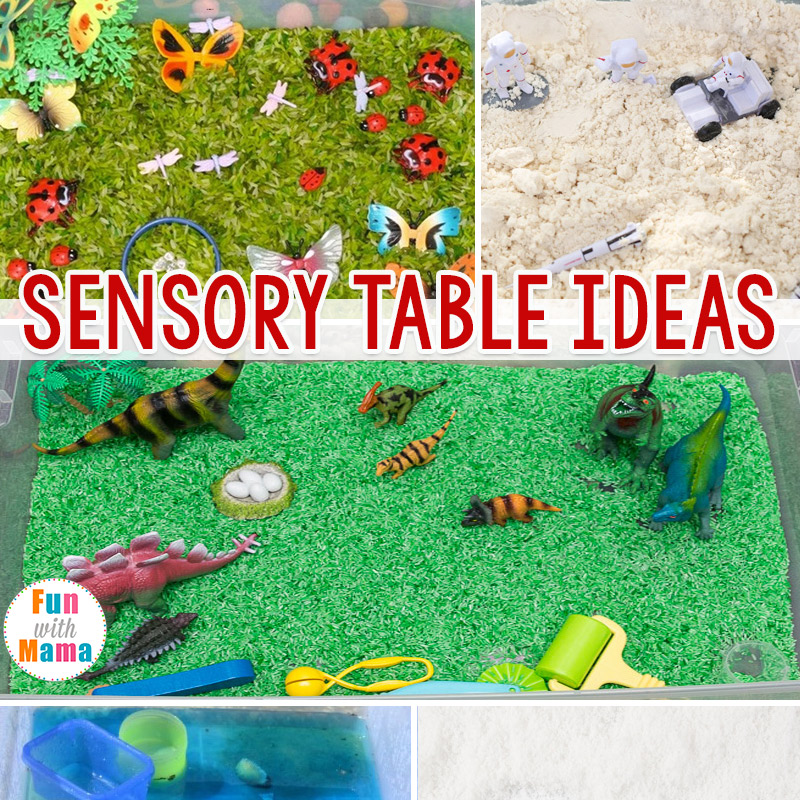 Sensory Table Ideas Sensory Activities For Toddlers