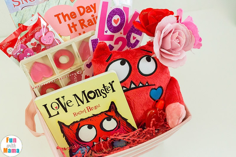 Valentines Basket Valentine S Gifts For Kids Fun With Mama