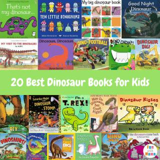 20 Best Dinosaur Books for Kids
