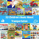 20 Children's Books about Transportation