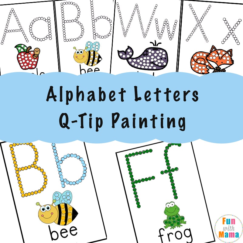 Alphabet Activities for Kids - Fun with Mama