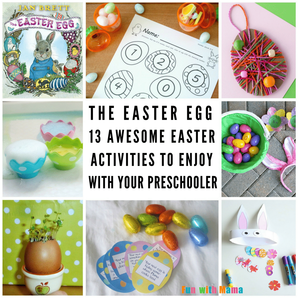 The easter egg 13 fabulous easter activities to do with your easter is one of my favorite holidays in our house it always heralded the coming of spring and warmer weather it also meant lots of fun easter activities negle Images