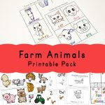 Farm Animal Activities For Preschoolers