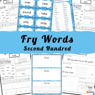 Fry 100 Sight Words Second Hundred