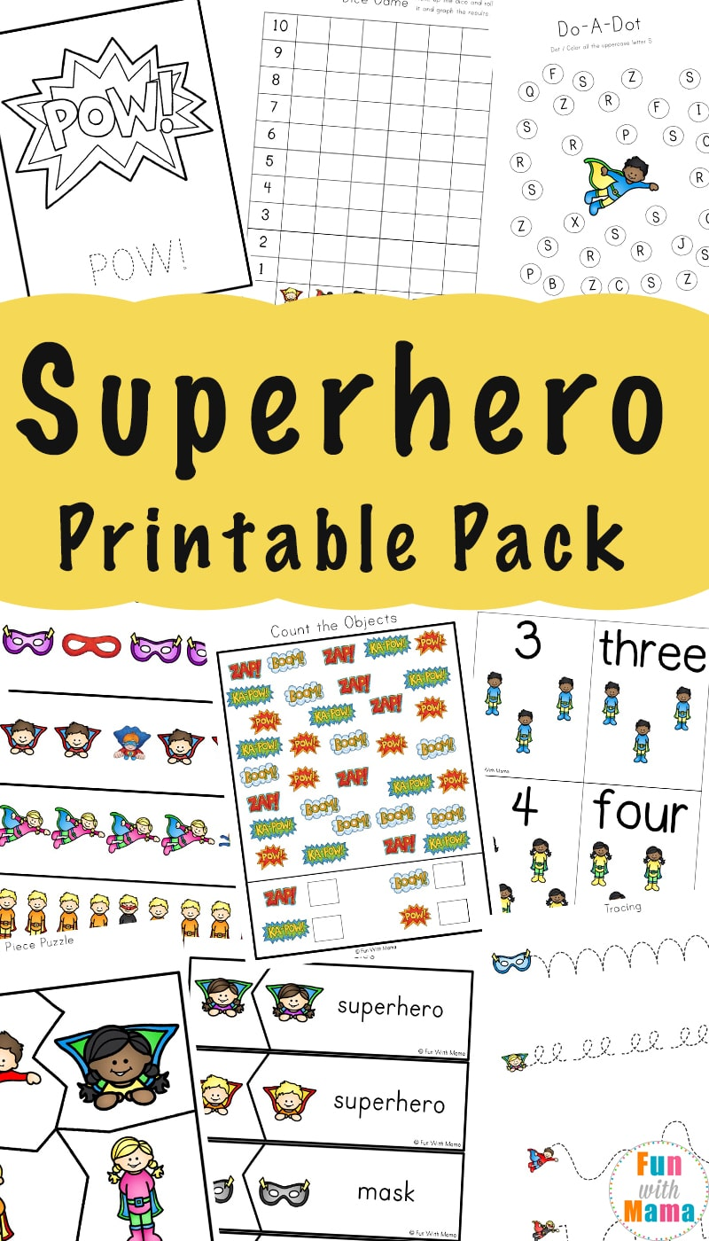 This is a picture of Epic Printable Kindergarten Activities
