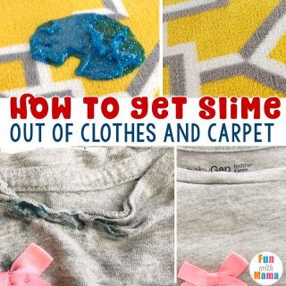 How To Get Slime Out of Clothes And Carpet
