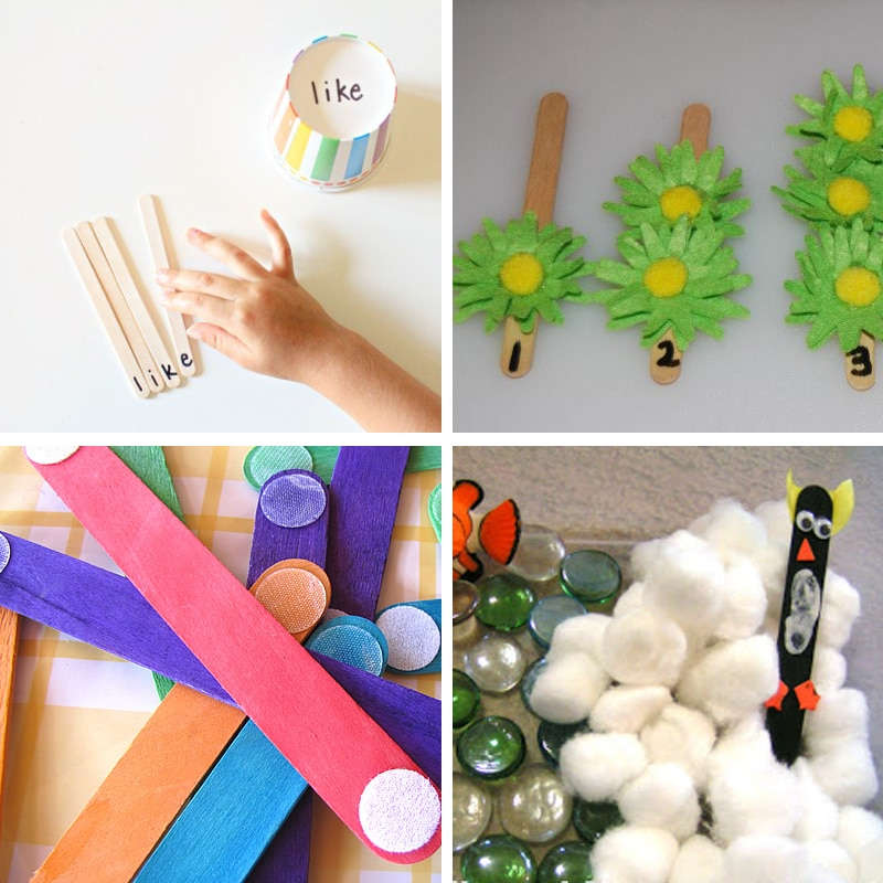 Ice Cream Stick Activity Ideas For Hands On Learning